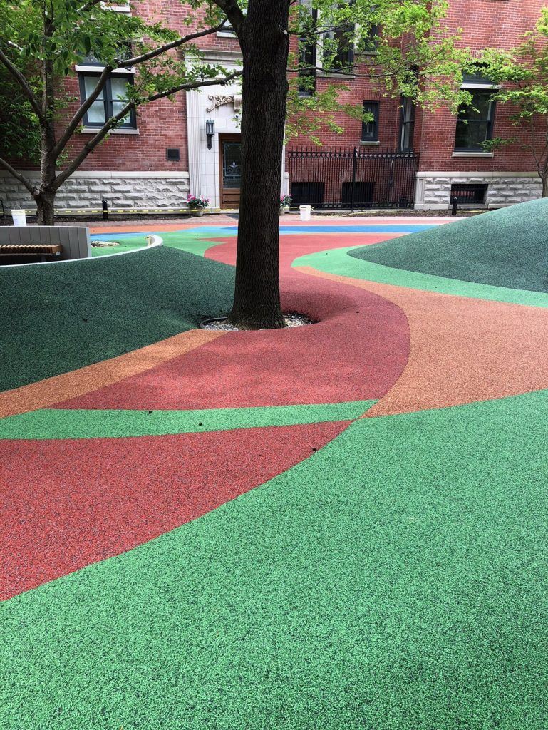Poured in Place Rubber - Playground Surfacing