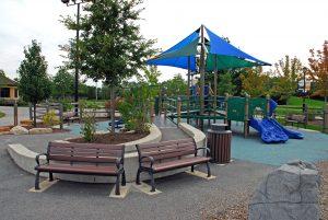 blue shade playground