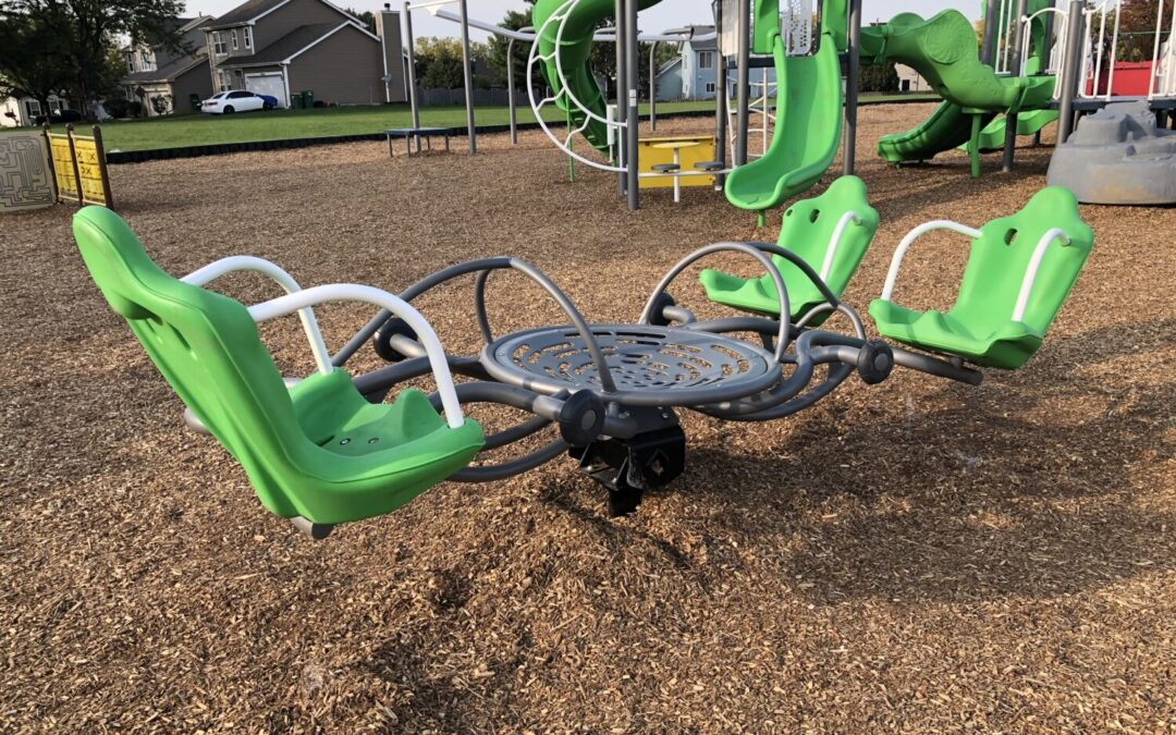 Kids In Motion -Playground Equipment For An Active Generation